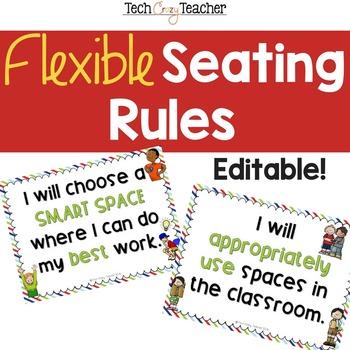 Flexible Seating Rules: Editable!