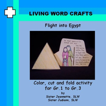 Flight into Egypt 3D Activity for Gr.1 to Gr.3