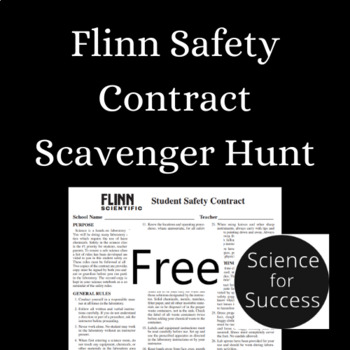 Flinn Safety Contract Scavenger Hunt