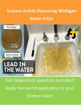 Michigan Water Crisis Assignment