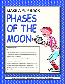 Flip Book: Phases of the Moon