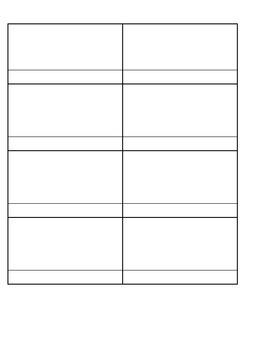 Flip Book Style Interactive Notebook Organizer