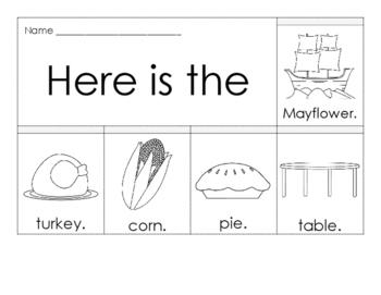 Flip Book - Thanksgiving