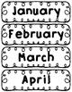 Flip Calendar Pieces