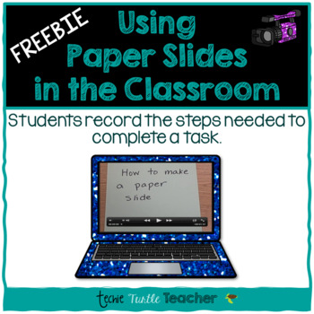 Technology - Flip Camera or iPad Activity - How To Use a P