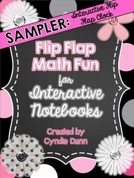 Flip Flap Fun - Math {FREEBIE Clock}