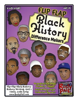 Flip-Flap's: Black History - Difference Makers - Unit 1 (K