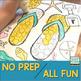 Flip Flop Articulatlon Dot Art (NO prep & ALL sounds!}
