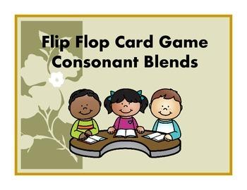 Flip Flop Card Game (Consonant Blends)