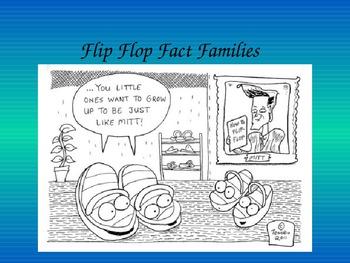 Flip Flop Fact Families