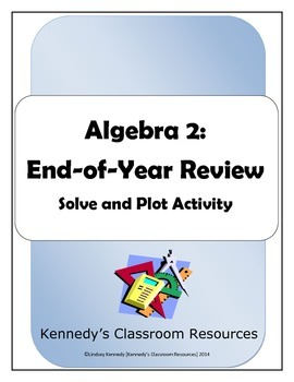 Flip Flop Fun: Algebra 2 End-of-Year Review (Solve and Plo