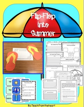 Flip Flop Into Summer ( A summer craftivity!)