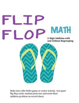 Flip Flop Math 2-Digit Addition
