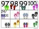 Flip Flop Numbers (100's Chart and Calendar)
