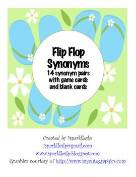 Flip Flop Synonyms Set 1