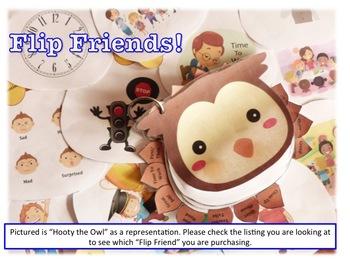 Flip Friends, Hooty the Owl Visual Prompt Book for Spectru