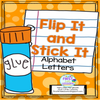 Flip It And Stick It: Alphabet Letters