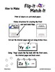 Flip-It Match-It Self-Checking Book - Contractions - Readi