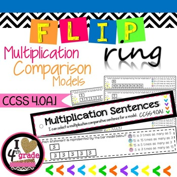 Multiplication Comparisons CCSS 4.OA.1