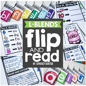 Flip and Read! {L-Blends}