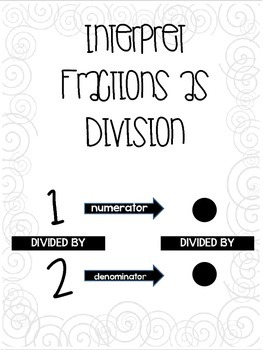 Flip for Division of Fractions