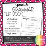 Flipbook - Spanish 1 Grammar Review