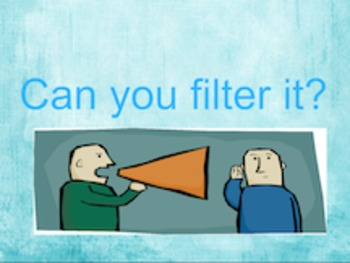 Flipchart - Filtering what you say