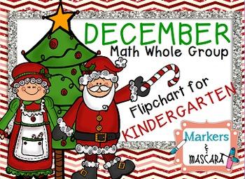 Flipchart Whole Group Math- December Calendar