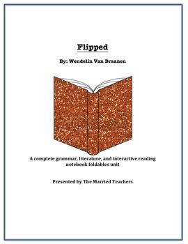Flipped Complete Literature, Grammar, & Interactive Foldab
