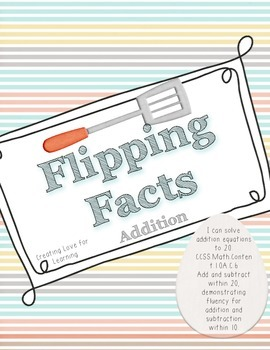 Flipped Facts - Math Center