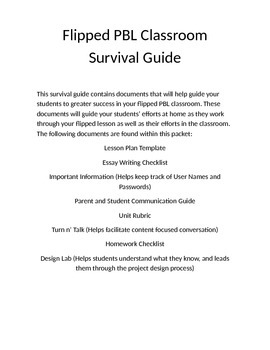 Flipped PBL Survival Guide