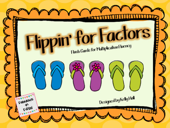 Flippin' for Fluency:  Multiplication Fact Fluency Game