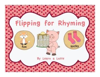 Flipping for Rhyming (Matching Pancakes Game)