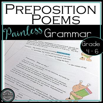 Preposition Phrase Poems