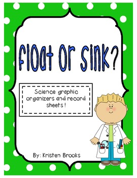 Float or Sink Record Sheet/Graphic Organizer