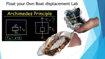 Float your Own Boat displacement lab set