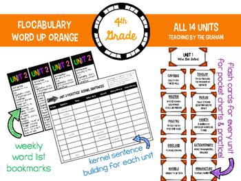 Flocabulary Resources {Word Up Orange} 4th Grade