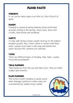 Floods Fact Cards
