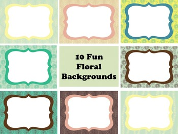 Floral PowerPoint Backgrounds