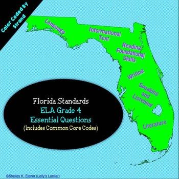 Florida 4th Grade ELA Essential Questions