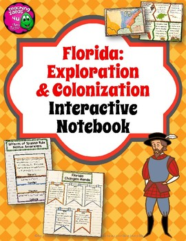 Florida Exploration & Colonization Interactive Notebook 4t