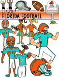 Florida Football Clip Art {Dolphins Gators Jaguars Seminol