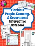 Florida People, Economy, & Government Interactive Notebook