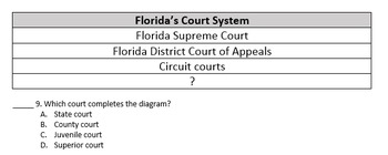 Florida Seventh Grade Civics Unit Assessments