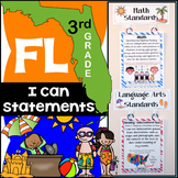 Florida Standards - 3rd Grade Math & ELA Bundle