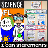 4th Grade Florida Science Standards - I Can Statements - F