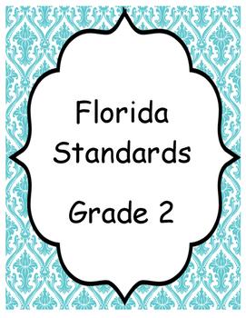 Florida Standards (Blue)- Grade 2