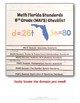 Florida Standards MAFS Math Mathematics 6th Grade Checklis