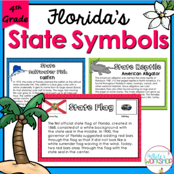 Florida State Symbols Activities