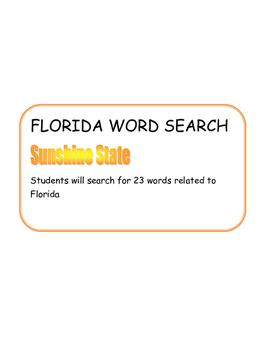 Florida Word Search